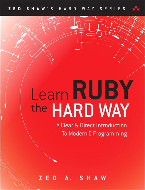 Learn Ruby - The Hard Way